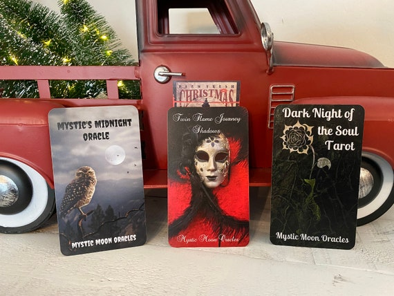 The Midnight Bundle (Mystic's Midnight Oracle, TF Journey Shadows, Dark Night of the Soul Tarot) Pre-Order Only (Ships 3/6/21)