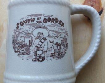 South of The Border Vintage Mug South Carolina Kitsch