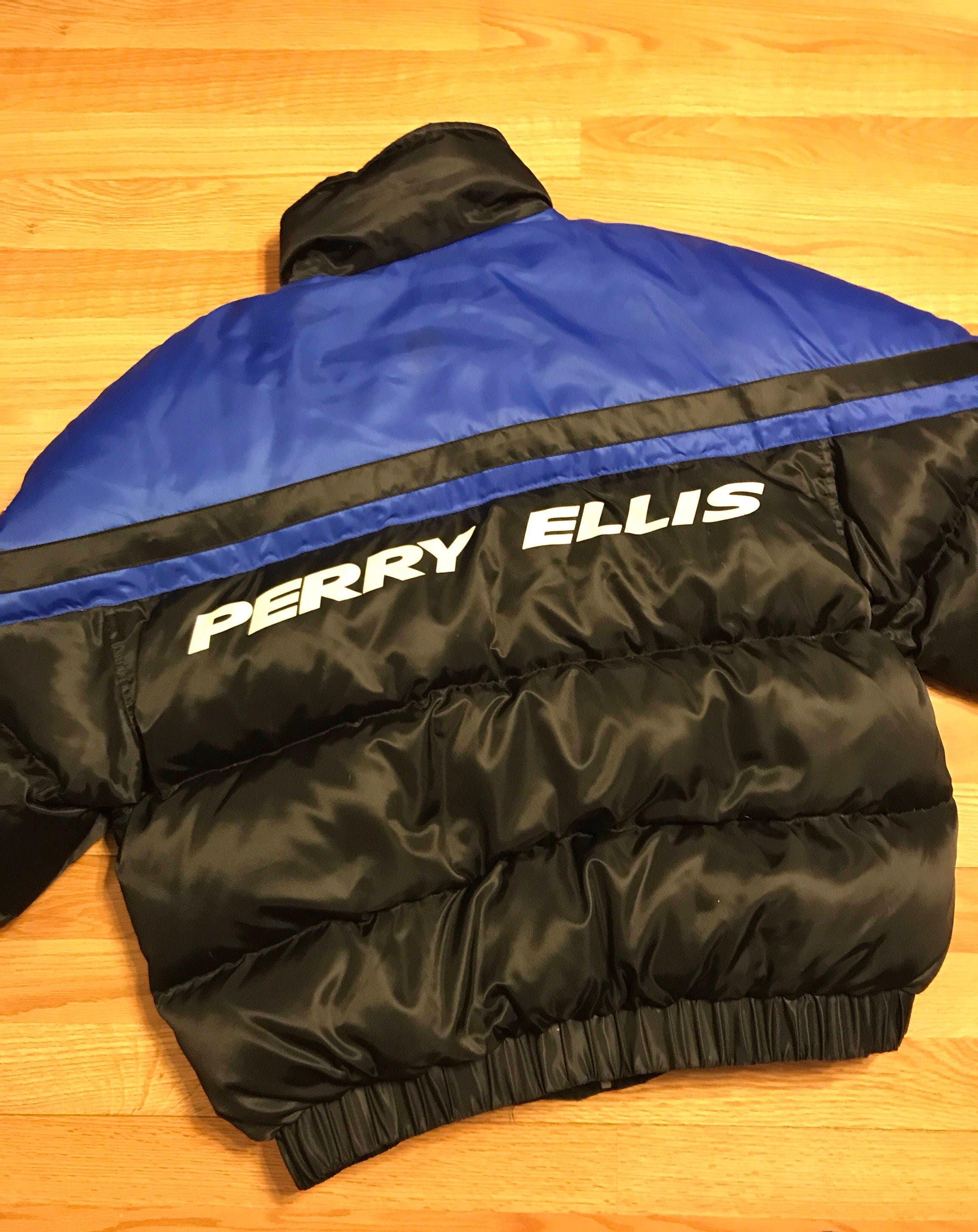 5261ac89bf Vintage perry ellis down puffer jacket size large