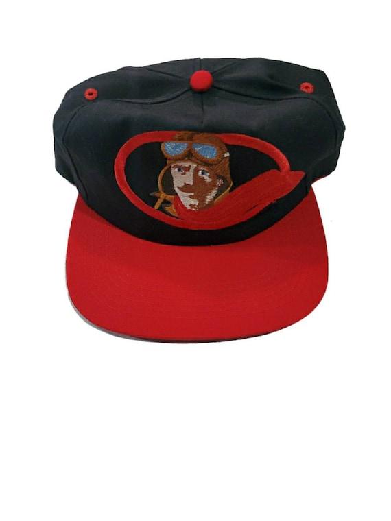 Vintage red baron snapback