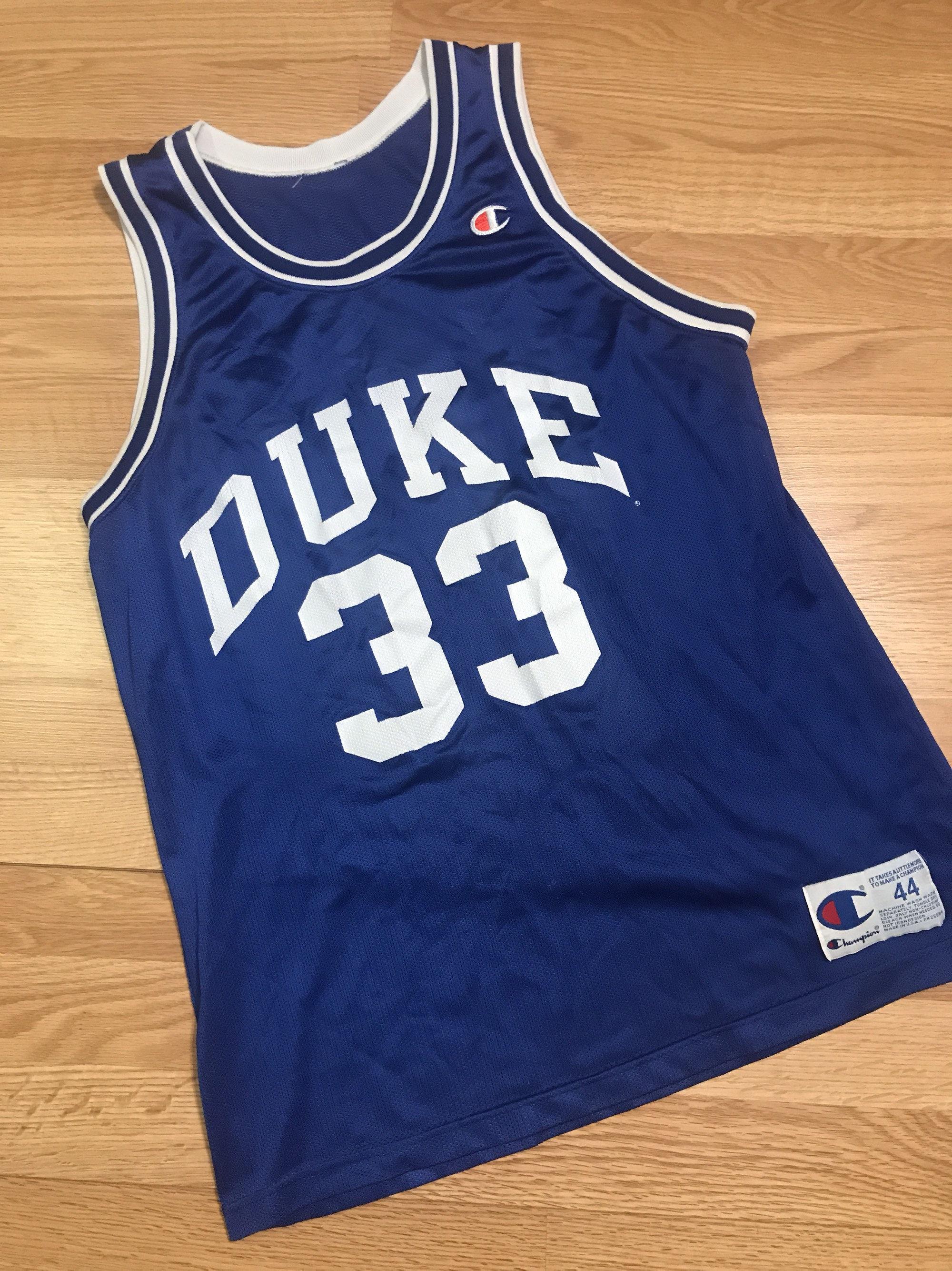 1b017298a20 Vintage grant hill duke jersey size large 44