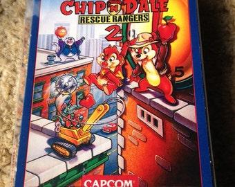 Nintendo NES Chip 'n Dale Rescue Rangers 2 - CIB Complete - Reproduction