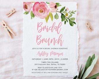 bridal shower brunch etsy