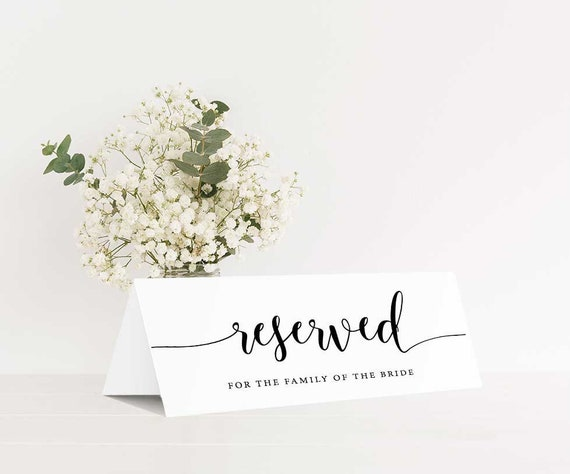 Table Reserved Template from i.etsystatic.com