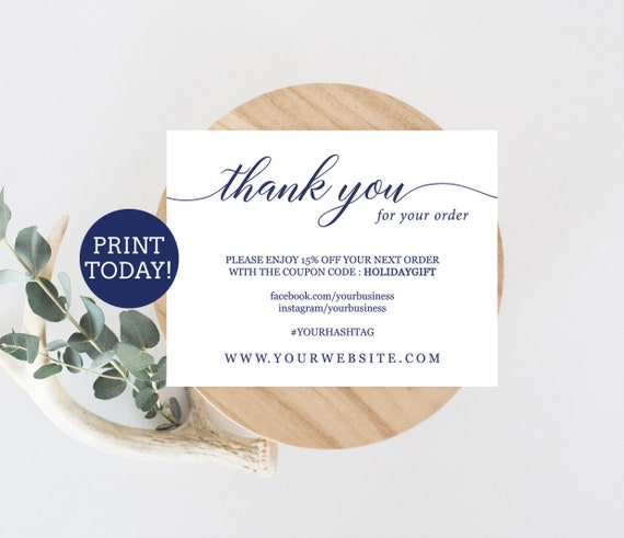 small thank you cards template
