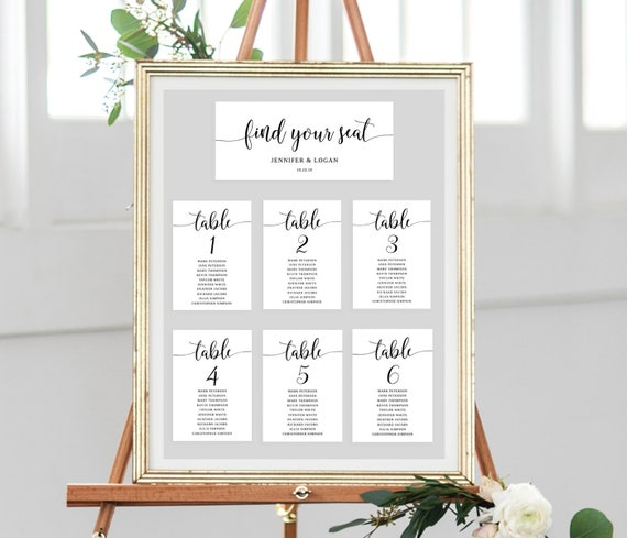 Diy Seating Chart Template from i.etsystatic.com