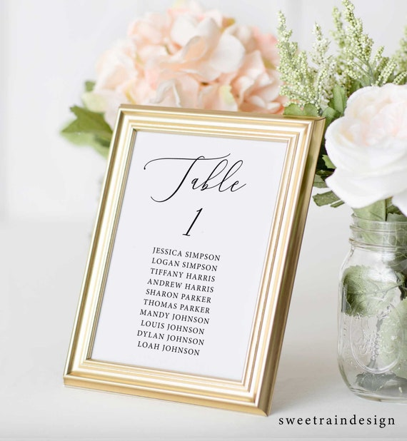 Wedding Table Plan Cards Table Plan Template Seating Chart Cards Rustic Wedding Seating Plan Seating Cards Diy Wedding Seating Chart By Sweet Rain Design Catch My Party
