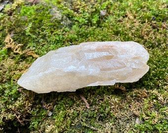 RAW Twinning Dreamsicle Lemurian, Sand Covered, Mine Fresh, Keyed, Brazil, 70.80 Grams, CR7412