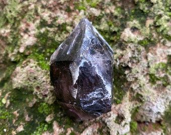 DT Raw Shangaan Smokey Amethyst, Heavily Etched, Keyed, Rich Color, Gemmy, Africa, 61.70 Grams, CR9335