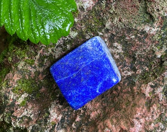 Lapis Lazuli, Solid Standing Stone, Polished, Afghanistan, 58.80 Grams, CR8621
