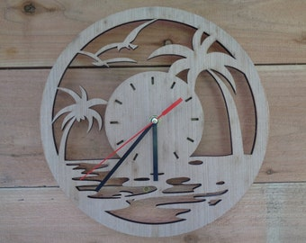 Clock-face for DIY projects. Unfinished Wooden Clock-Barn Clock