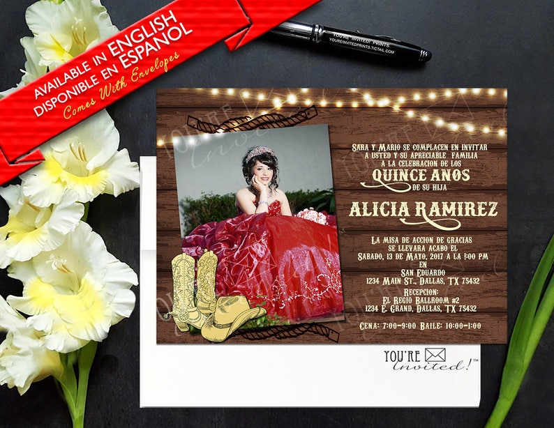 Quinceanera Invitations Dallas Tx