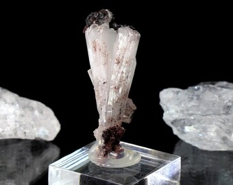 Large Terminated Pink Mangano Calcite Crystal 156.3g
