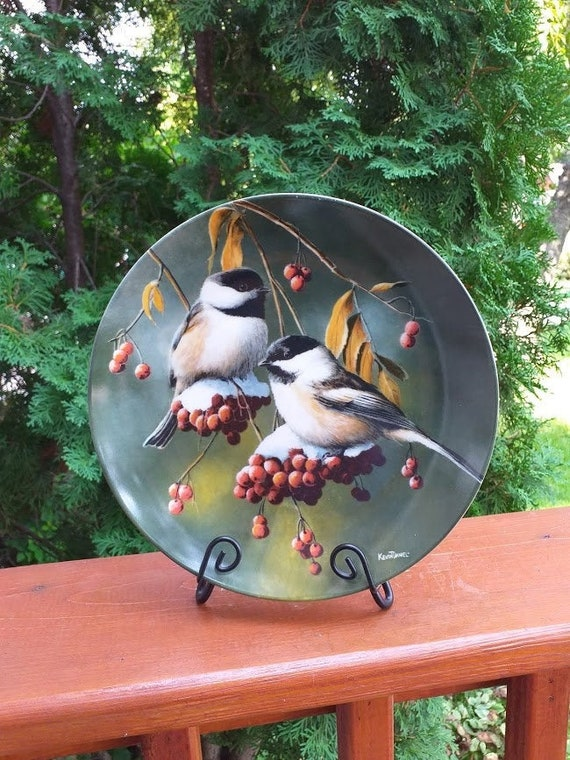 Vintage The Chickadee Knowles Collector S Etsy