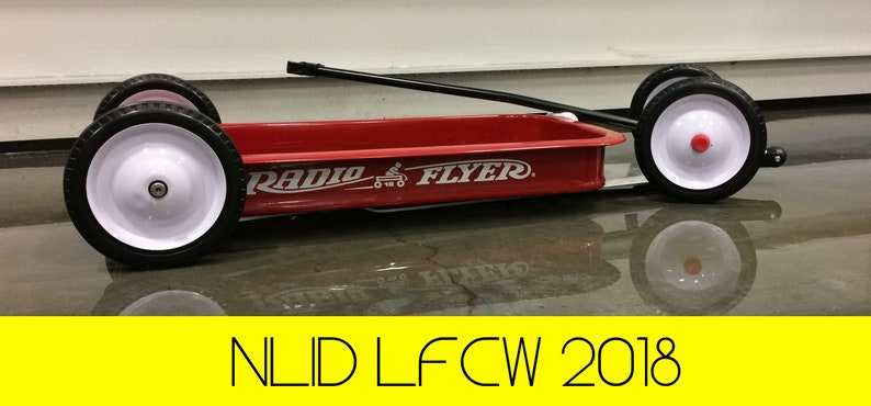Lowering Kit for Radio Flyer Model 18 Wagon by NLID