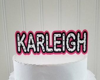 Lol Cake Topper Etsy