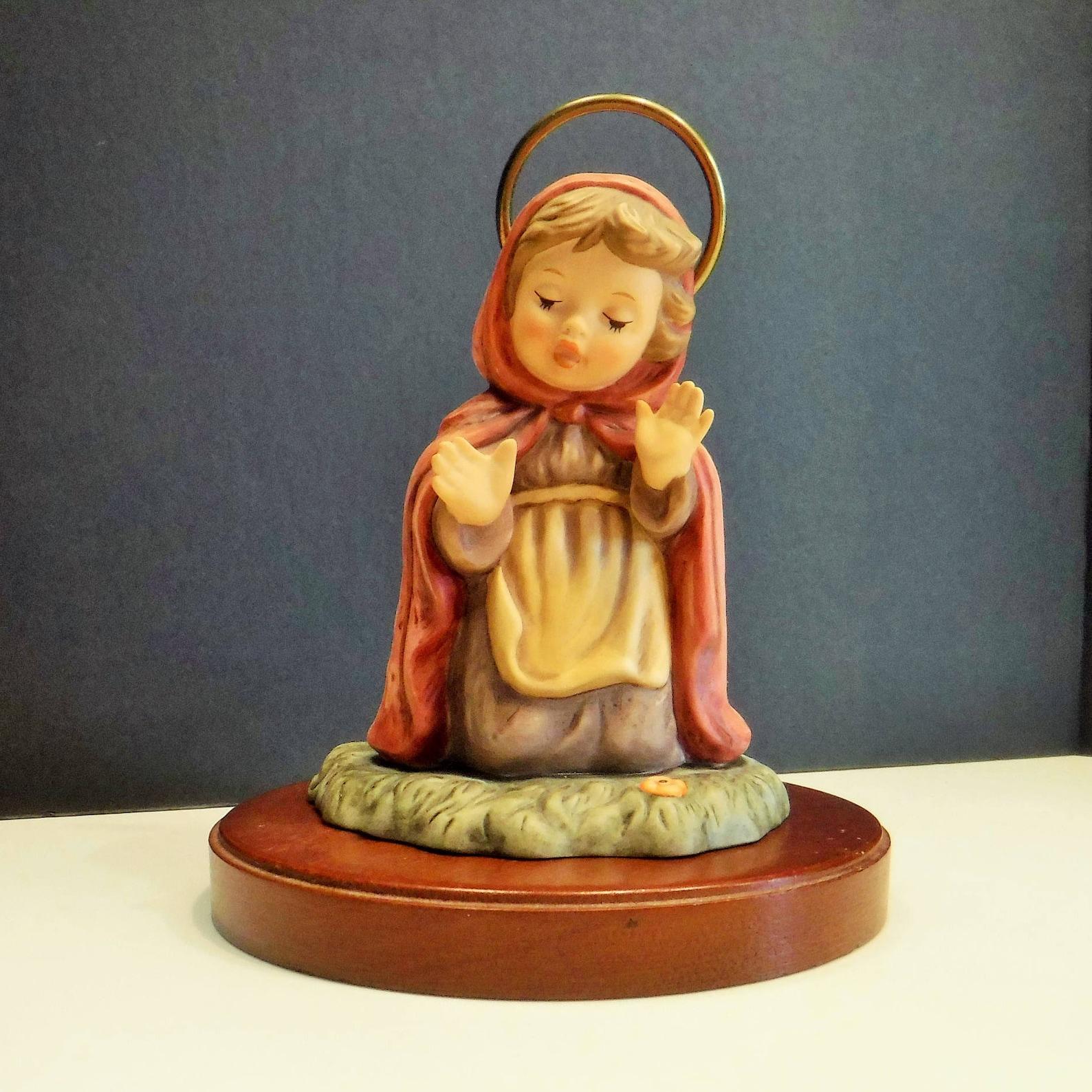 Nativity Mary Goebel Berta Hummel Nativity Mary, Mary Hummel Nativity piece, Replacement Mary for Goebel Nativity Set, Porcelain Mary