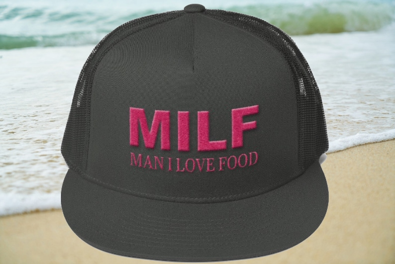 0b5559075c MILF Man I Love Food Trucker Cap hats caps womens hats
