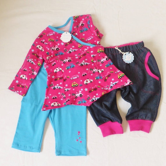 3491e6601e07 Baby tunic with leggings and jeans size 4-months baby