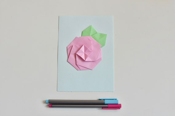 Wall Art Origami Flowers Three Poster For Baby Girl Nursery Baby Room Decor Flowers Origami Flowers Home Decor Wall Decor Origami Roses