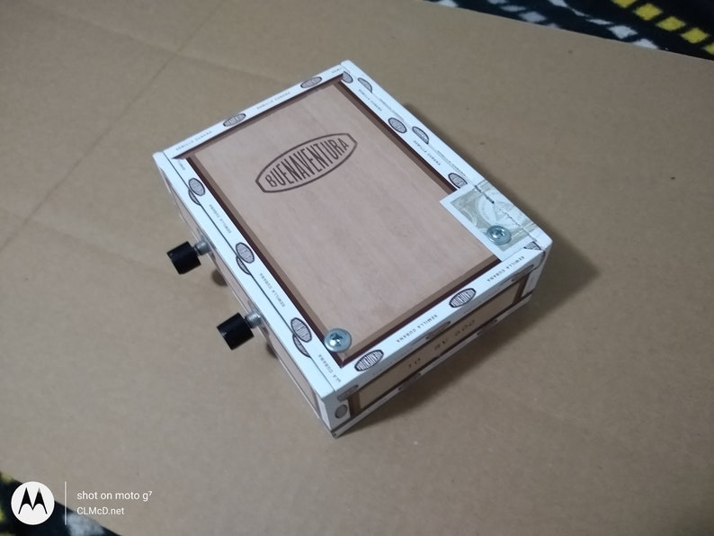 STOMP BOX 4 Electric Piezo/Volume/Tone controls image 0
