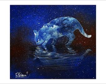 Rare cosmos water