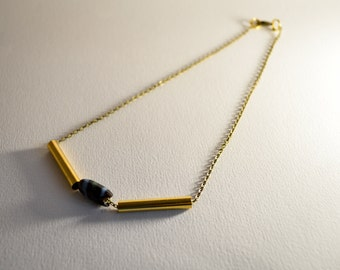 Maia (necklace) - Gold (available in bronze color)