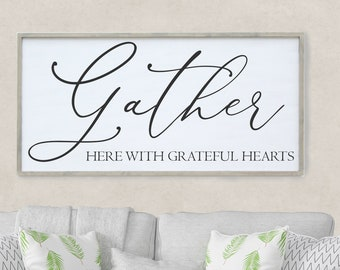 3d3c4b9a89e Gather Here With Grateful Hearts Sign