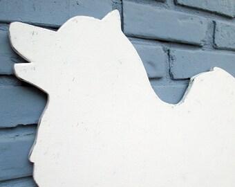 Samoyed Wooden Rustic Vintage Dog Wall Art Samoyed Home Decor #5076