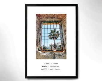 Bohemian mood Poster, Travel Poster, Travel Photography, Home decor Print, Wall Art.