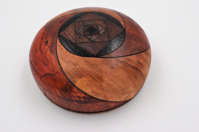 Ciotola di legno intagliato a mano meditazione spirituale  e9d862a5374