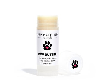 Dog Paw Balm / Body Lotion Bar / Gift For Dogs / Paw Butter / Dog Paw Lotion / Paw Related Gift / Pet Grooming