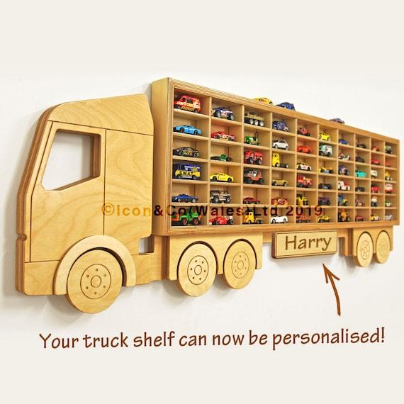 Toy Car Storage U0027Trucku0027 Shelf Model Car Shelving | Etsy