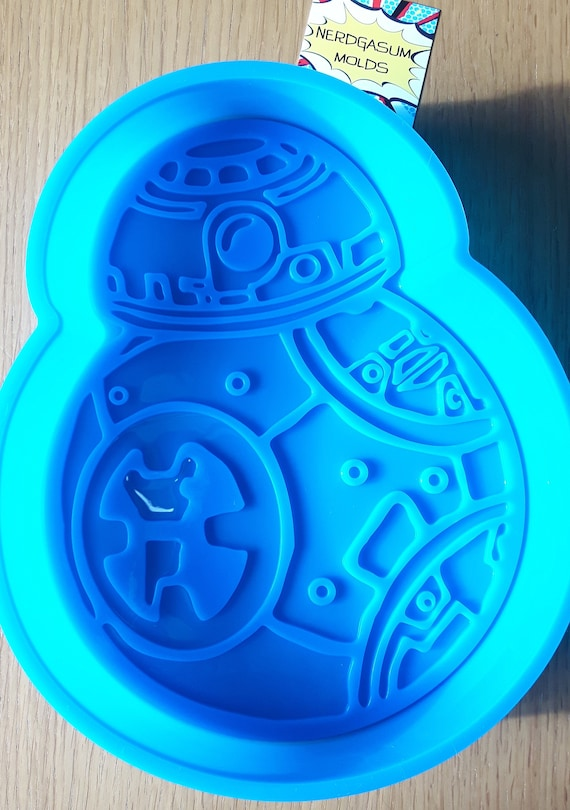 New Star Wars Bb8 Large Silicone Cake Pan Mold For Cake Etsy