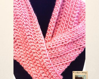 Easy CROCHET PATTERN, Cowl Pattern, Infinity Scarf Pattern, Crochet Cowl Pattern, One Pattern Many Looks, Instant Download PDF English Only