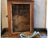 Vintage Key Box Cabinet Holder/Jewelry Holder