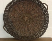 SOLD***Vintage Hungarian Paprika/Pepper Basket - Free Aldie VA pick up/Shipping OPTIONAL-Extra