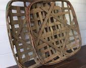 Vintage Tobacco Baskets, ...