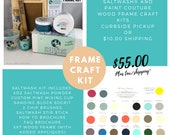 Saltwash and Paint Couture Wood Frame Kit