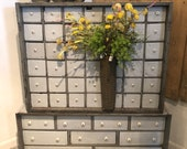 Antique Apothecary Chest/Cabinet