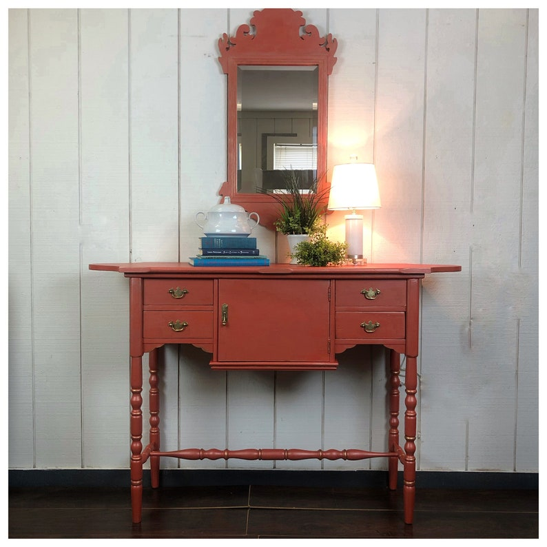 Oblong Foyer Table MIRROR SOLD image 0