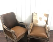Cowhide Leather Chairs