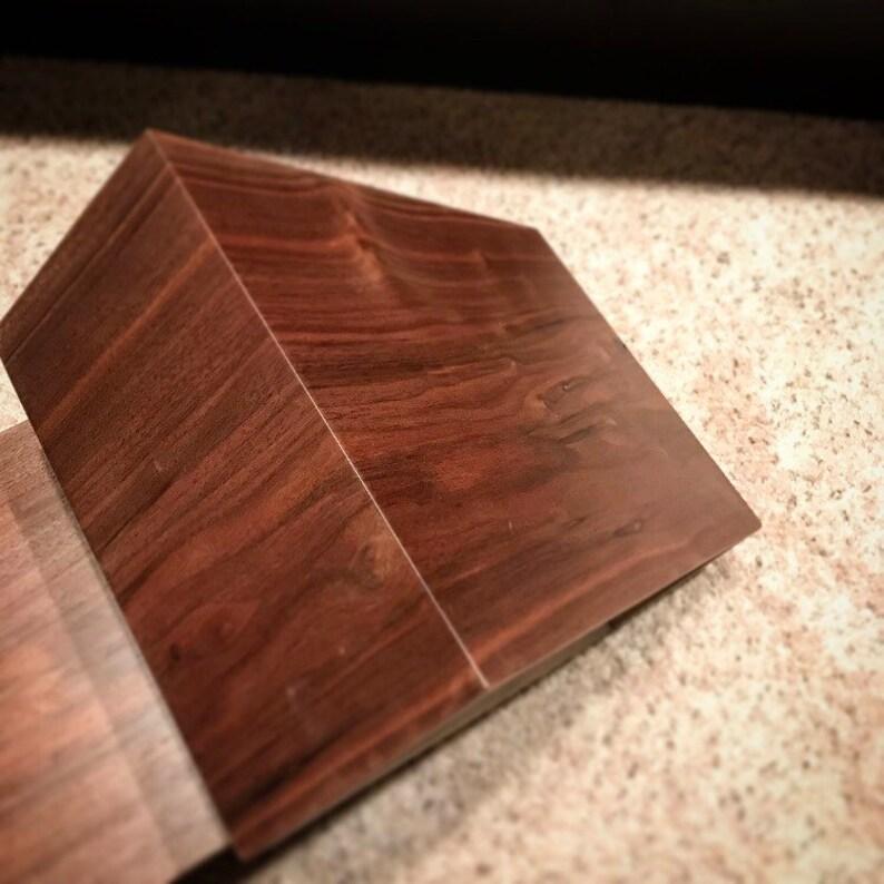 black walnut floating nightstands nightstands end tables walnut nightstands wood nightstands nightstand Floating nightstands