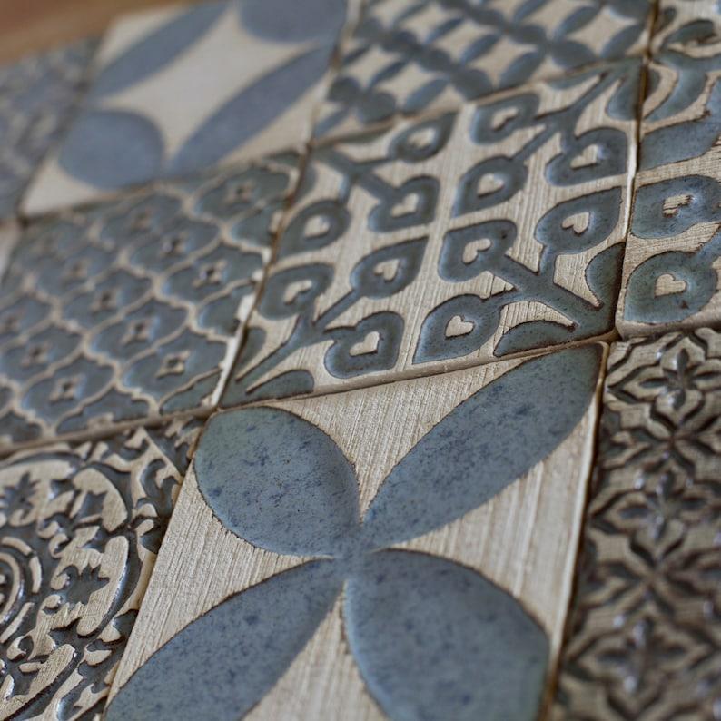 Handgemachte Keramik rustikale Fliesen für Küche
