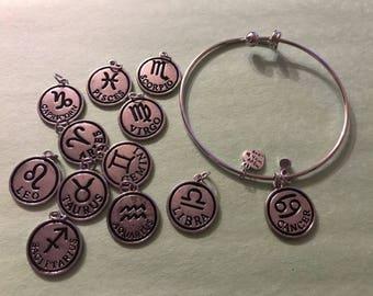 Zodiac Sign Bangle (all 12 available)