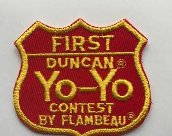 First Place Yo-Yo Contest patch
