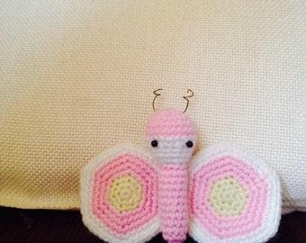 For crochet Butterfly