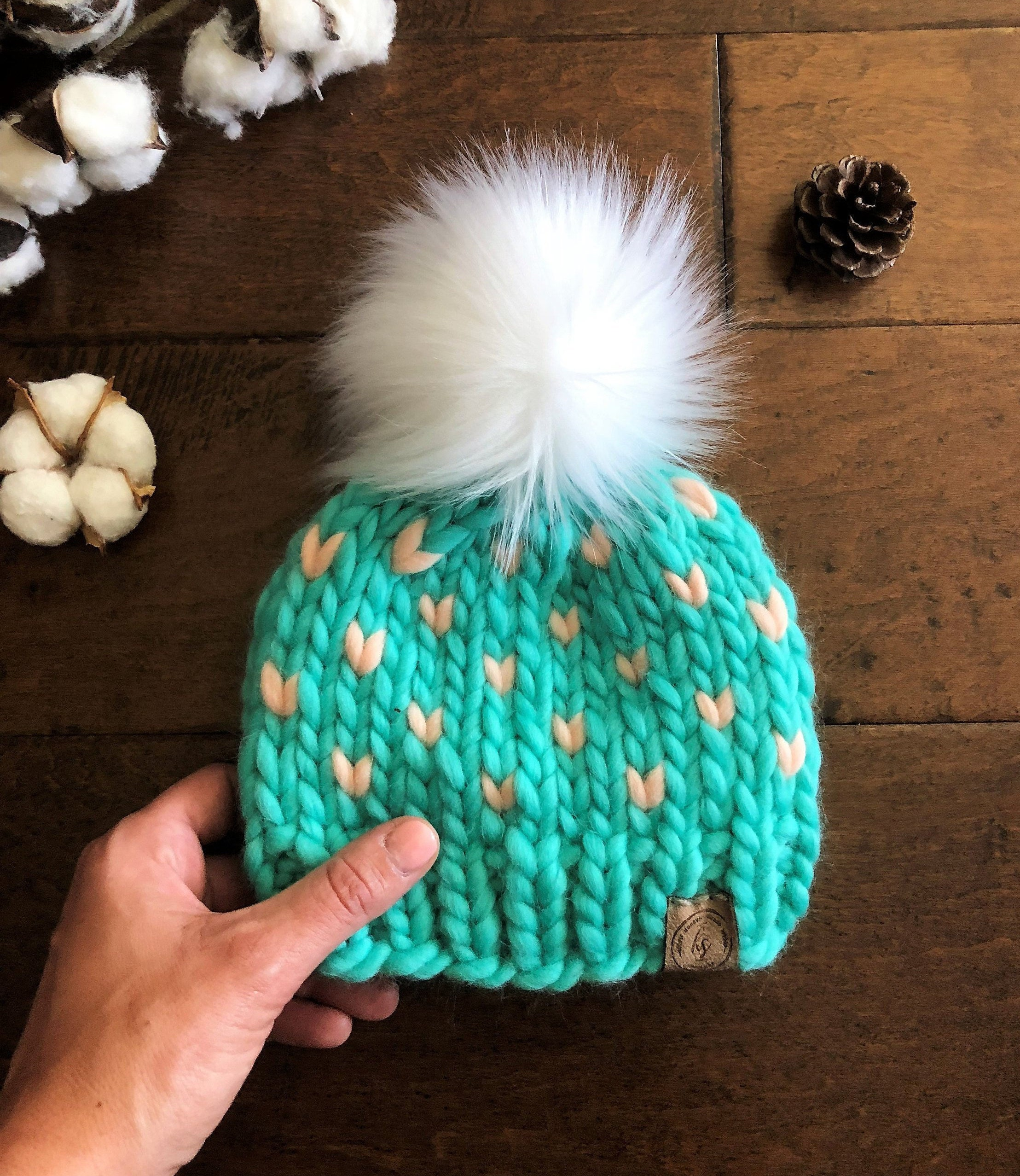 Baby Bonnets : Hand Knitted Hats 0-3 9-12 Months 3-9 Many Colours