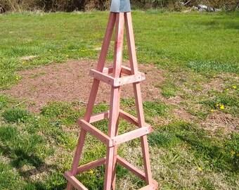 Garden Obelisk Etsy