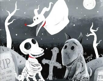Tim Burton Dogs